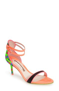 SOPHIA WEBSTER 'Nicole' Camo Sandal (Women) available at #Nordstrom