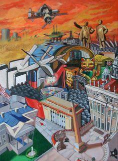 """Saatchi Online Artist Luis Pastor; Painting, """"POWER"""" #art"""
