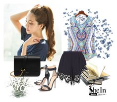 """""""shein"""" by woman-1979 ❤ liked on Polyvore featuring GABALNARA, Chloé, Gianvito Rossi and Mulberry"""