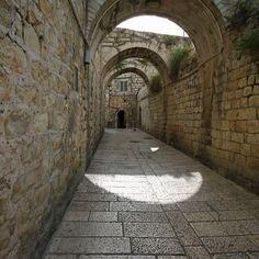 من البلدة القديمة في القدس  From Old City of ALQuds-Jerusalem
