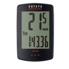 Cycling Biking: Cateye Padrone Wireless Cycling Computer *** Find out more about the great product at the image link. http://www.amazon.com/gp/product/B01BMXU2O2/?tag=cyclingmaniac-20&pst=060916073858