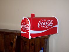 Coca-Cola Postmaster Approved Mailbox I want