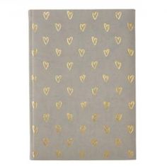Hearts Embossed Journal