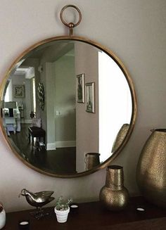Hoop Mirror | Pinned by topista.com