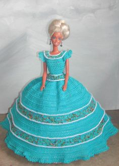 Crochet Fashion Doll Barbie Pattern 514 от JudysDollPatterns
