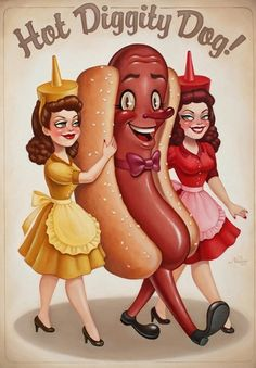 Hot dogs by lorene