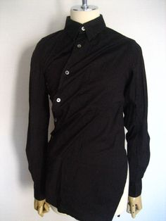 Comme Des Garcons Twisted Long Sleeve Blous AD2002 #Commedesgarcons #ButtonDownShirt #Casual