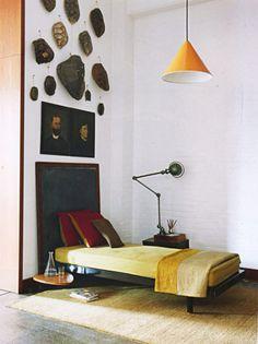 Anita Calero Interior Exterior, Home Interior, Interior Architecture, Interior Decorating, Yellow Interior, Decorating Bedrooms, Bathroom Interior, Decorating Ideas, House Contemporary