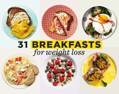 Time to kick your boring healthy breakfast routine to the curb—with these breakfast ideas, you'll be set for the whole month.