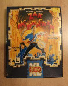 Zak McKracken, Kixx Amiga big box   English Sealed