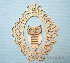 OWLove - sowa w ramie
