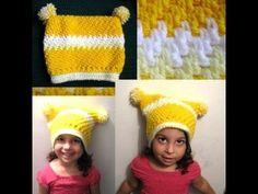 Childs Mesh Crochet Hat Tutorial - YouTube