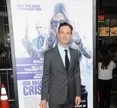 Scoot McNairy attends the premiere of Warner Bros. Pictures' OUR BRAND IS CRISIS at TCL Chinese Theatre on October 26, 2015 in Hollywood, California. (photo Albert L. Ortega) - Edited
