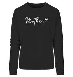 MOTHER BY HEART - Ladies Organic Sweatshirt – FAMILY BY HEART Lady, Organic, Sweatshirts, Heart, Long Sleeve, Sleeves, Sweaters, Mens Tops, T Shirt