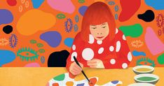 art Yayoi Kusama Childrens Book Tells the Story of Her Legendary, Polka-Dotted Life Art Lessons For Kids, Artists For Kids, Art Lessons Elementary, Art For Kids, 7 Arts, Art Criticism, 3rd Grade Art, Yayoi Kusama, Japanese Artists
