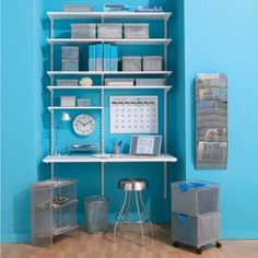 Adjustable shelves- that's what I'd need as I change things often!