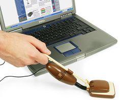 Tiny USB vacuum cleaner