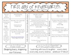 Freebielicious: First Day of School Lesson Plans and Freebies