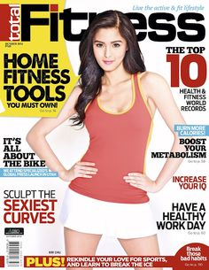 Kim Chiu Covers Total Fitness October 2012 issue