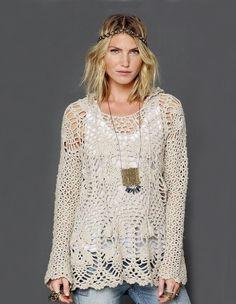 ATMOSPHERE: Tunic Crochet Pattern – Crochet Tutorial in English