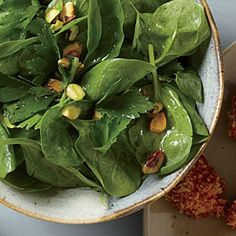 Quick Parsley-Spinach Salad | CookingLight.com #myplate #vegetables #myplate #vegetables