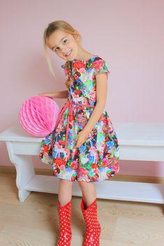 Little Miss Dress, Bookmarks Kids, Girls Dresses, Summer Dresses, Sewing For Kids, Fashion Kids, Dress Patterns, My Girl, Girl Outfits