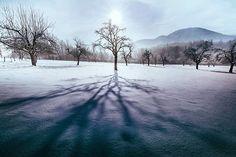 Při cestě na Skalku... #sunrise #shadows #beskydy #nature #lovenature #hiking #treking #passion #landscape #panorama #mountains #mountain #nikon #instagood #instadaily #skalka #ondřejník #smrk #celadna #from #ostrava #ostravacity #by #janjasiok