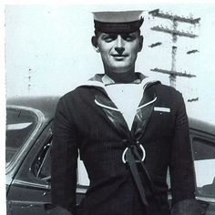 James Dickson, My handsome Dad as he left Rossendale, MB to pursue his naval career. Remembrance Day, Family Memories, My Father, The Man, Sailor, Captain Hat, Career, Dads, Handsome