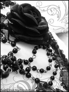 Gothic by flowing-black-lace on DeviantArt Gothic Images, Gothic Art, Gothic Girls, Gothic Vampire, Vampire Girls, Black Rose Meaning, Black Rose Dragon, Black Rose Tattoos, Language Of Flowers