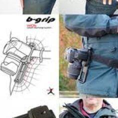 B grip camera clip & belt system