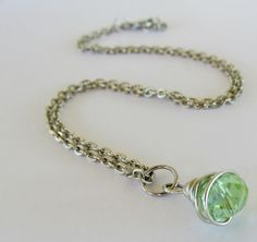 Wire Wrapped crystals tutorial