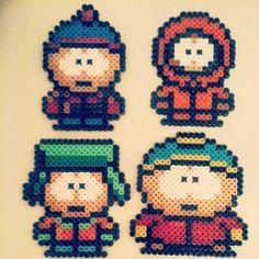 South Park hama beads by pixel_art_nouki
