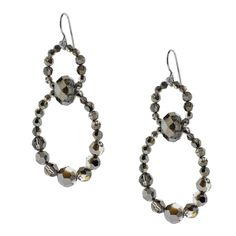 Midnight Rain Earrings | Fusion Beads Inspiration Gallery