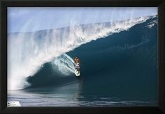 """Gas Posters Andy Irons, in Tahiti Surf Poster 24"""" x 36"""""""