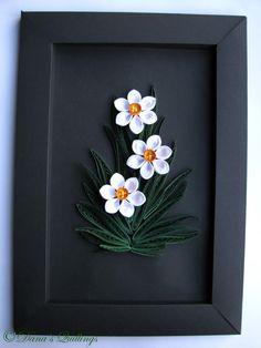 quilling framed :*