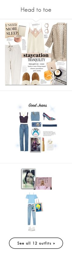 """""""Head to toe"""" by fly-1234 ❤ liked on Polyvore featuring Brunello Cucinelli, Zadig & Voltaire, UGG, staycation, Chanel, Chloé, Electric Picks, Chiara Ferragni, Skinnydip and 3x1"""
