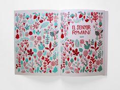 El Senyor Romaní - miguel-bustos/ il·lustració—disseny gràfic