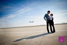 since the airport has been such a significant place in this relationship...this would be kinda cool to do