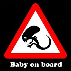 This is the only sign I would ever put on my vehicle if I had a child.