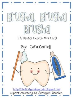 This Dental Health Unit includes 42 pages of engaging, hands-on activities such as:*3 poetry pocket activities*writing prompts