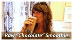 """Chocolate"" Smoothie With A Twist (Raw Vegan Recipe)"