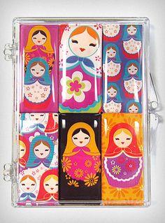 Russian Doll Magnet Set $17.00