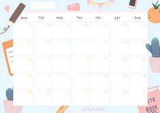 Here's my calendar for all the months happening in 2019 . Print Calendar, Calendar Design, Blank Calendar, Free Calendar, Desk Calendars, Cute Notes, Good Notes, Planner Template, Printable Planner