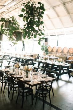Event + Graphic Design by Lauren Blanche. Photography by Ashley Forrette. Camp Wedding, Dream Wedding, Wedding Dreams, Coopers Hall, Portland Wedding Venues, Honeymoon Planning, Places To Get Married, Sydney Wedding, Indoor Wedding