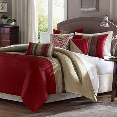 Morell 7 Piece Reversible Comforter Set