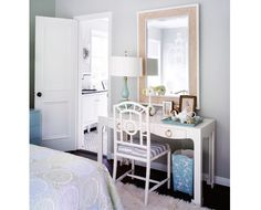Bungalow 5 Chloe chair and Jacqui Desk at #LaylaGrayce.com