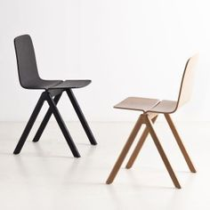 The COPENHAGUE chair by HAY, made in wood by Ronan and Erwan Bouroullec. La chaise COPENHAGUE par HAY en bois, par Ronan et Erwan Bouroullec #HAY