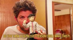He's crafty. | 28 Reasons Ben Wyatt Is The Best TV Boyfriend Of All Time | I mean he almost made a stop motion film one time, well sort of..