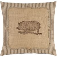 French Country - Wilbur Pig Pillow