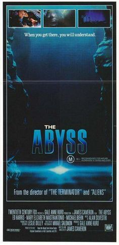 The Abyss Movie Poster #3 - Internet Movie Poster Awards Gallery